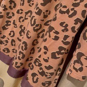 LOGO by Lori Goldstein Tops - LOGO by Lori Goldstein Animal Print Tunic/Dress